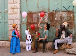 Las fotones del carnaval judío más desconocido