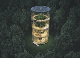 Cette incroyable maison va vous donner envie de vivre dans les arbres