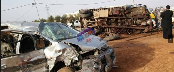 ROAD ACCIDENT IN JORDAN