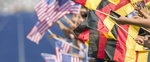 AMERICA FLAG GERMANY