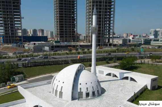 بالصور... أغرب 5 مساجد من حيث التصميم المعماري في إسطنبول O-ALWADYALAKHDR-570