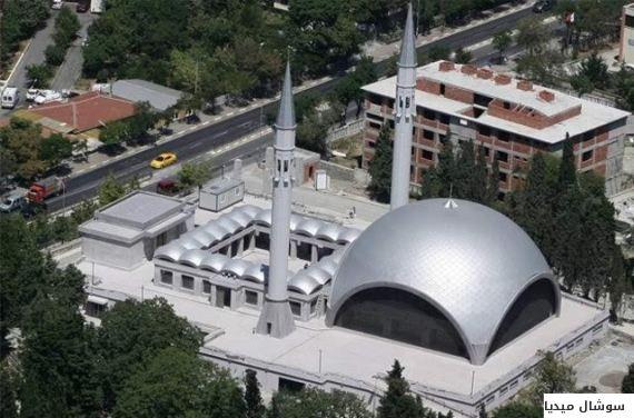 بالصور... أغرب 5 مساجد من حيث التصميم المعماري في إسطنبول O-JAM-570