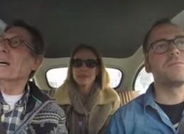 Vamos de paseo con Fofito y Mónica Aragón en un auto nuevo