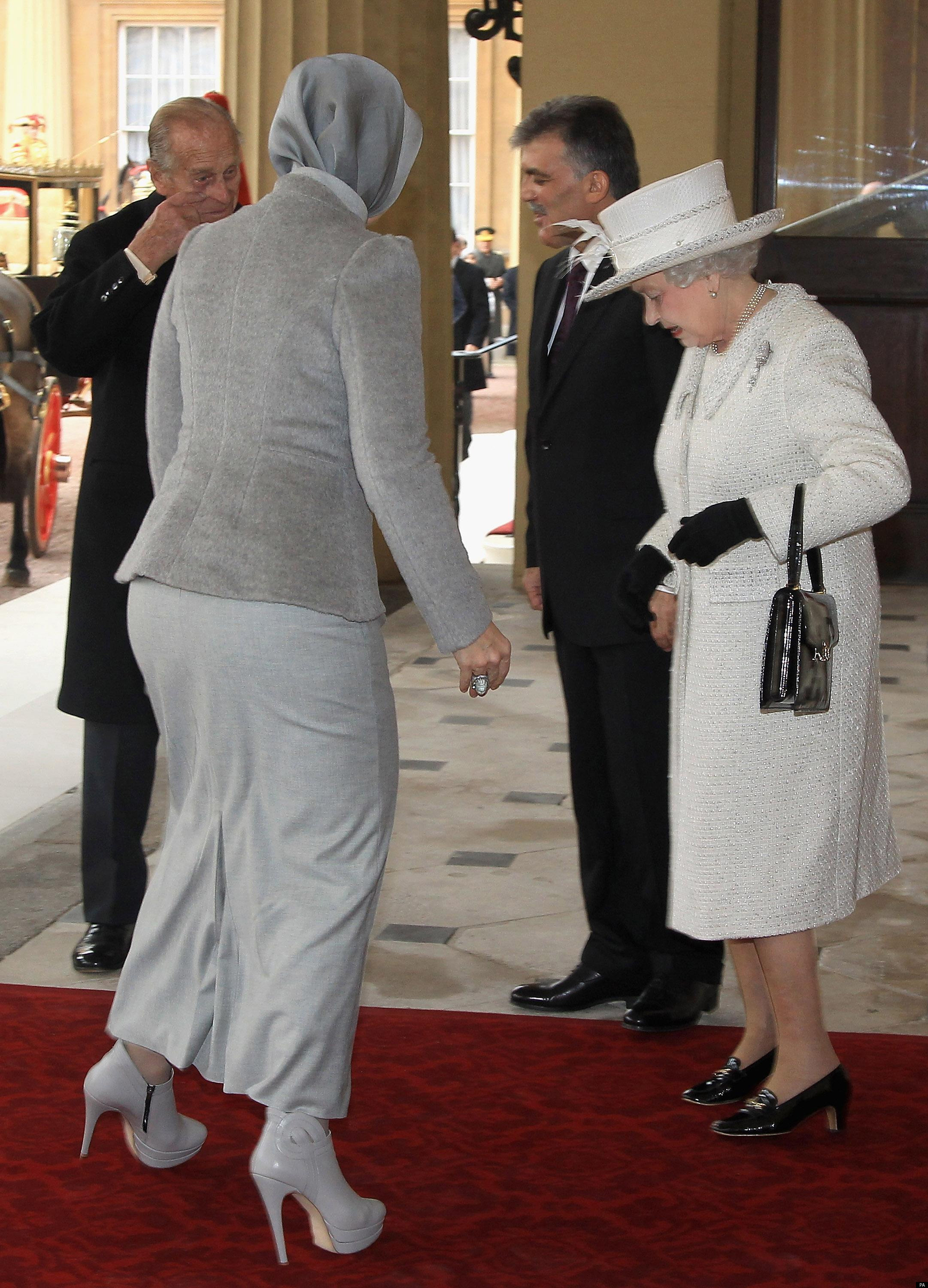 Queen Welcomes Turkish President Gul (But All Eyes Are On ...