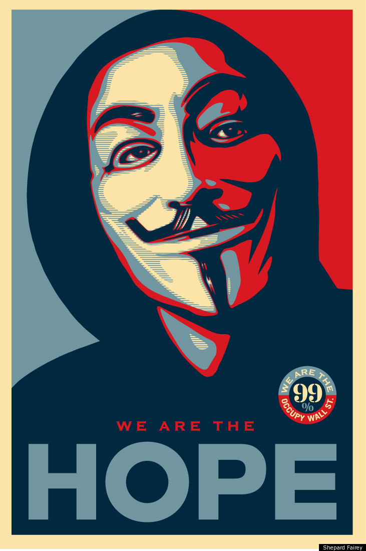 Shepard Fairey's OWS Poster: The Rise And Fall of Hope ...