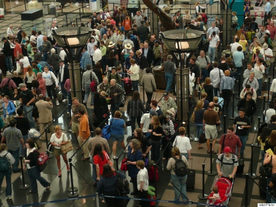 long airport line