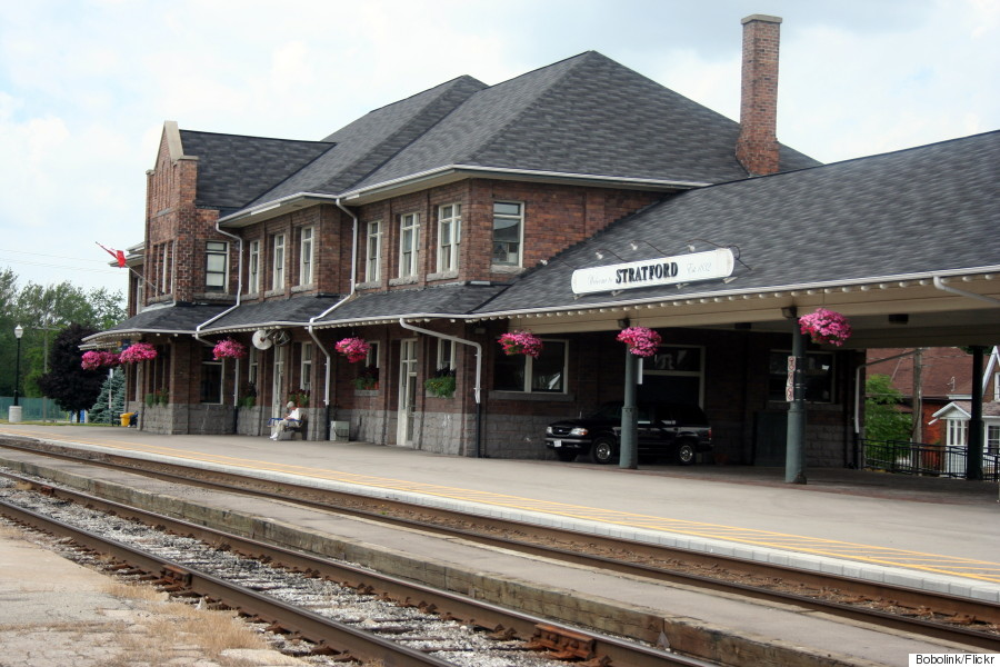 via rail station