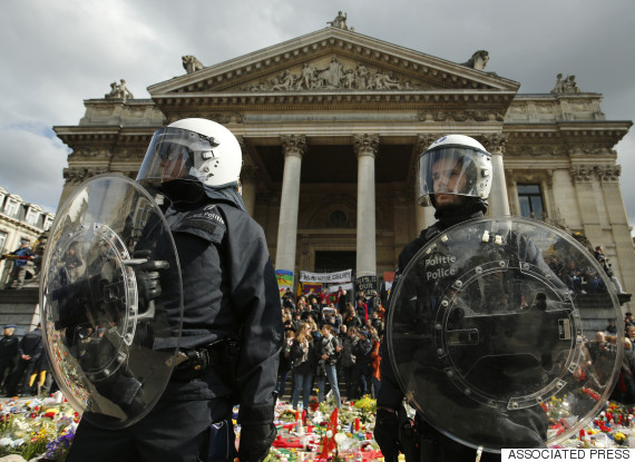 belgium terror police