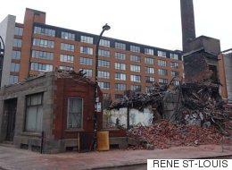 Héritage Montréal dénonce la destruction d'un immeuble patrimonial incendié