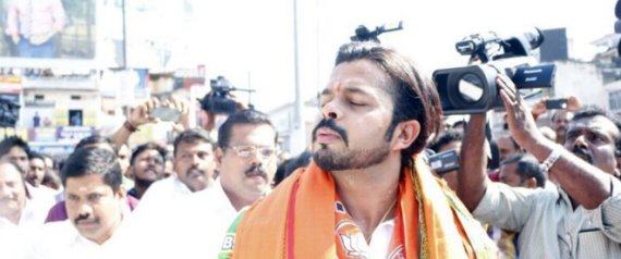 Sreesanth Twitter: Sreesanth Joins BJP With Lotus In Hand And Twitter Tries