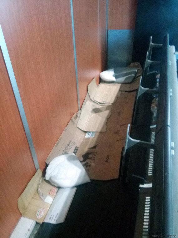 couchage étrangers rétention aéroport maroc
