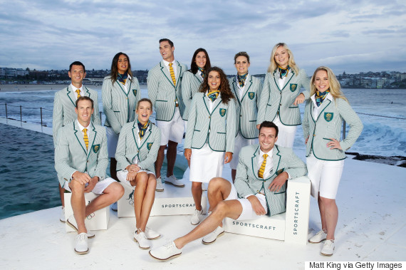 olympic uniform