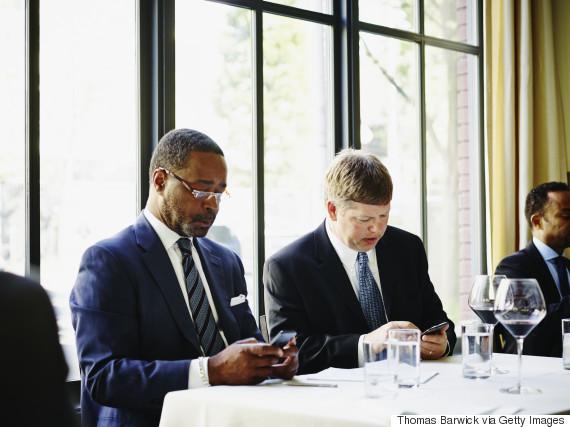 mobile phones in meetings