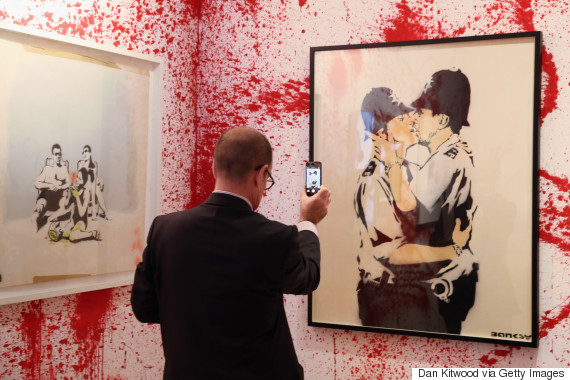 banksy exhibition