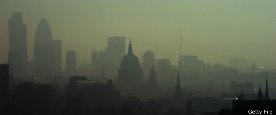 LONDON SMOG AIR POLLUTION CLIMATE CHANGE