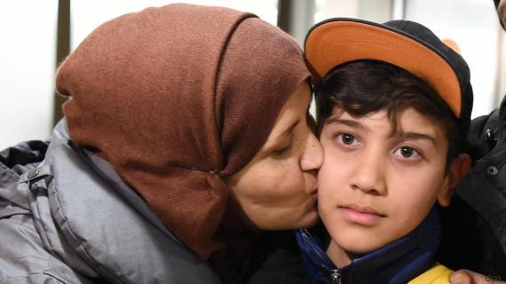Schockria und ihr Sohn Mahdi