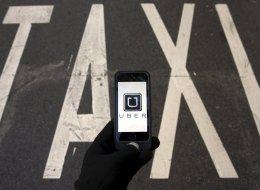 Perturbations de l'industrie du taxi contre Uber aujourd'hui