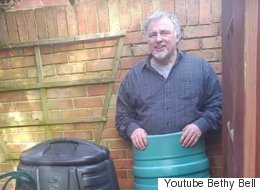 This Man Got Trapped In A Compost Bin And His Family Threatened Him With Lube