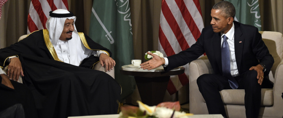 KING SALMAN WITH OBAMA