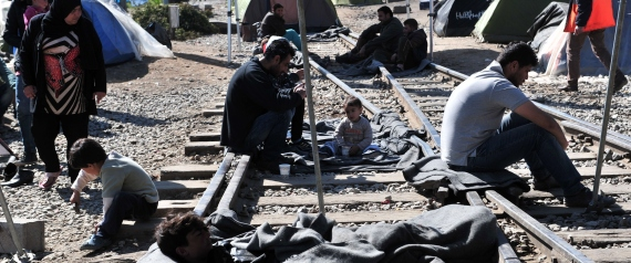 SYRIAN REFUGEES GREECE