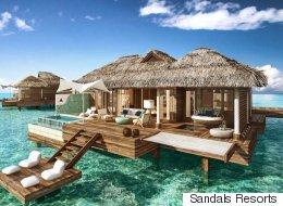 Ces luxueux bungalows sur l'eau vont vous faire rêver (PHOTOS)
