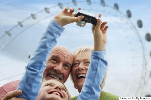 take a photo of your grandchild