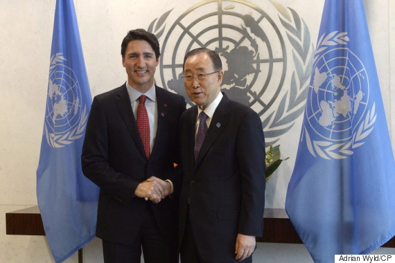 justin trudeau united nations