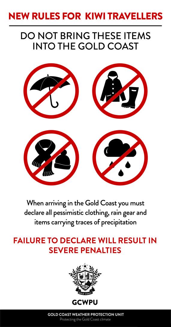 gold coast kiwi weather banned prohibited
