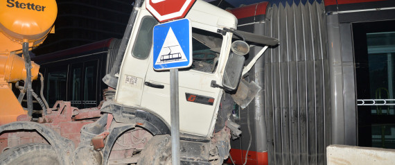ACCIDENT TRAMWAY