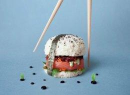 Sushi ou burger? Plus besoin de choisir!