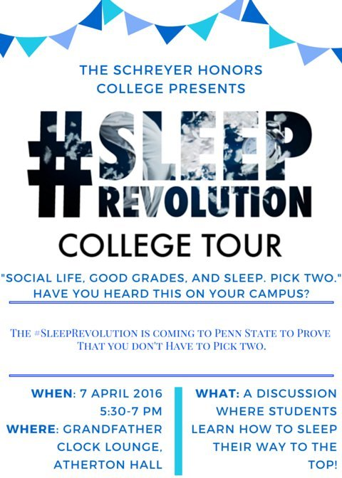 sleep revolution flyer