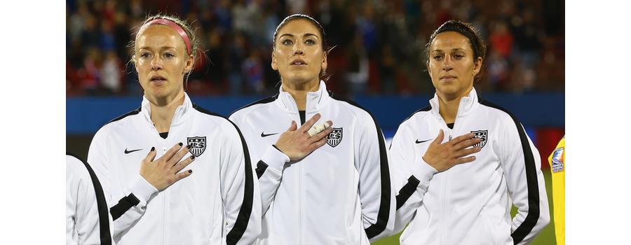 US Soccer Superstars Sue