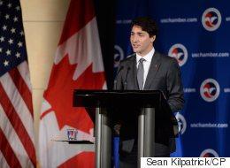 'Confident' Countries Invest, Trudeau Tells U.S. Audience