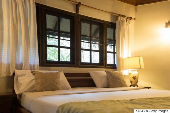 lamp light home interior bedroom