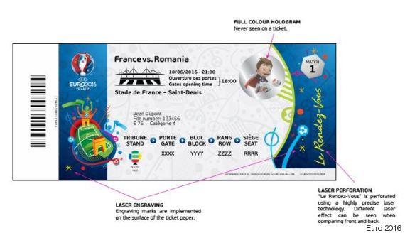 billet euro 2016