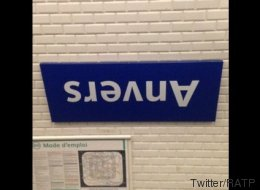 Les 13 poissons d'avril du métro parisien font sourire