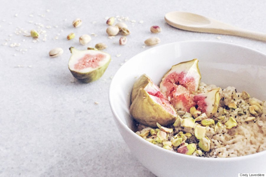 fig oatmeal bowl