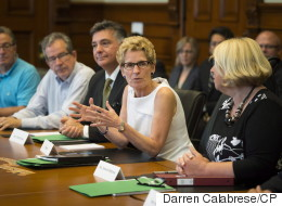 Wynne Stops Dodging Fundraising Question
