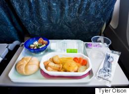 Les aliments à éviter en avion