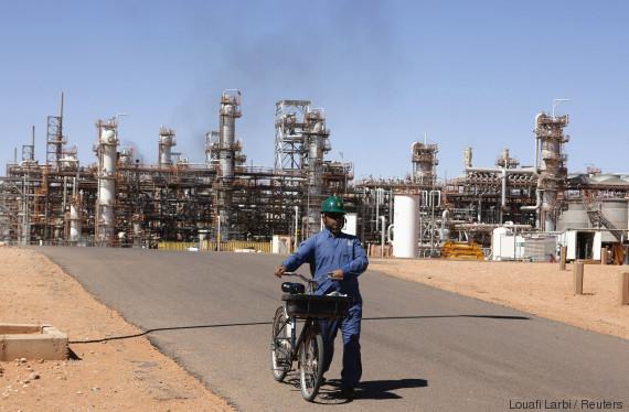 algeria gas plant