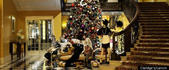 CLARIDGES LANVIN CHRISTMAS TREE