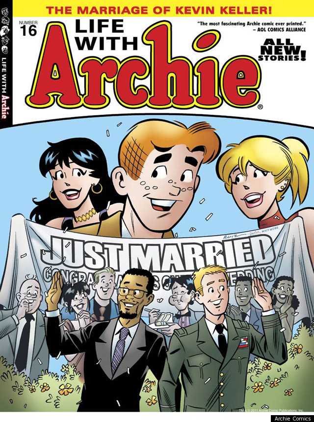 Kevin Keller, Gay Archie Character, Gets Married In -8138