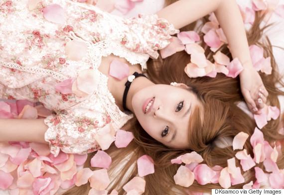 flower woman japan