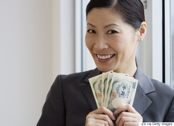 money woman japan