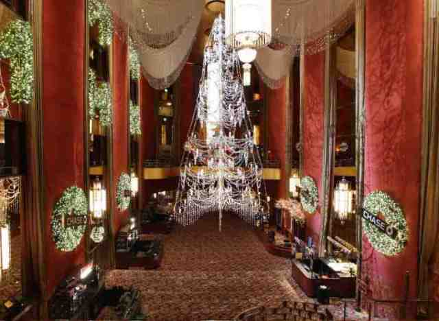 radio city music hall christmas decorations by thom filicia - Christmas Hall Decorations