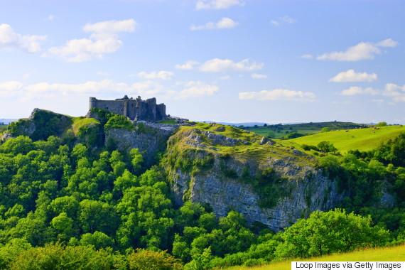 carreg cennen castle wales