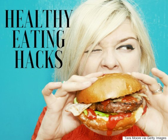 healthy eating hacks