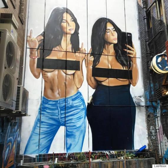 lushsux melbourne street art