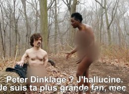 Tyrion Lannister nu dans une parodie de «Naked and Afraid»