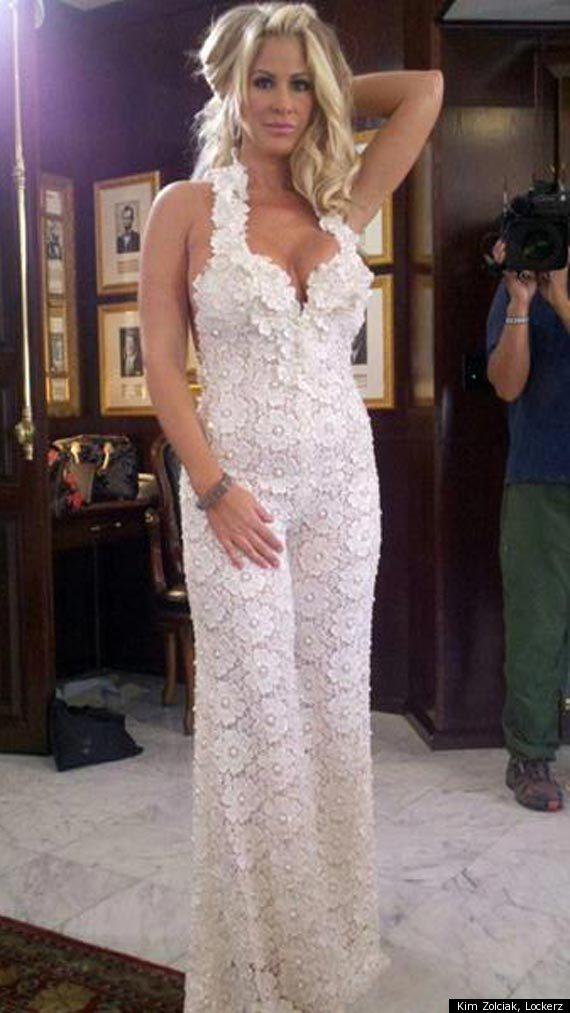 Kim Zolciak Reveals Wedding Jumpsuit PHOTO